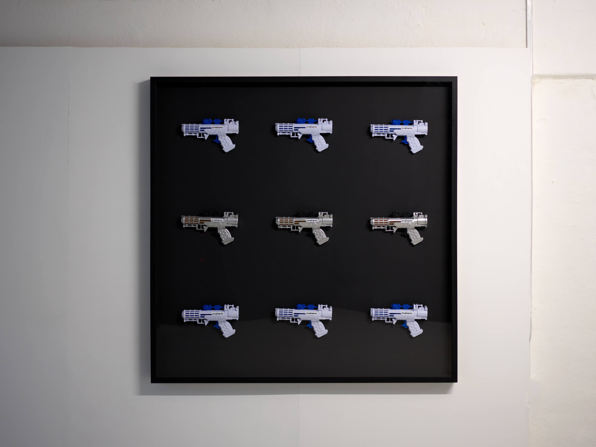 Muslamic Rayguns display
